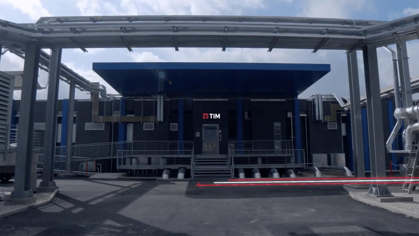 Sicurezza perimetrale attiva Integrata per il Data Center TIM di Acilia